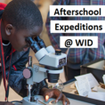 Afterschool Expeditions at the WID