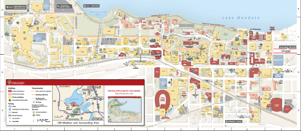 Campus Map Uw Madison Maps and Campus Tours – Science Outreach on Campus – UW–Madison