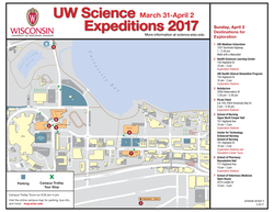 Trolley Map - Sunday, April 2